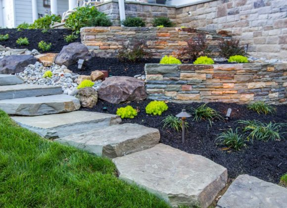 Walkway and landscape design in Glenelg, MD