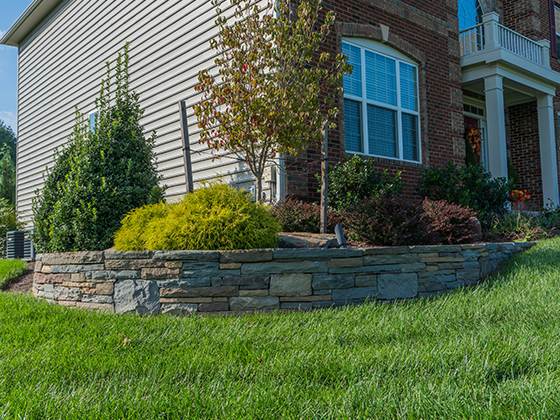 Retaining Walls, Mailboxes and Piers
